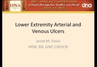 Lower Extremity Arterial and Venous Ulcers
